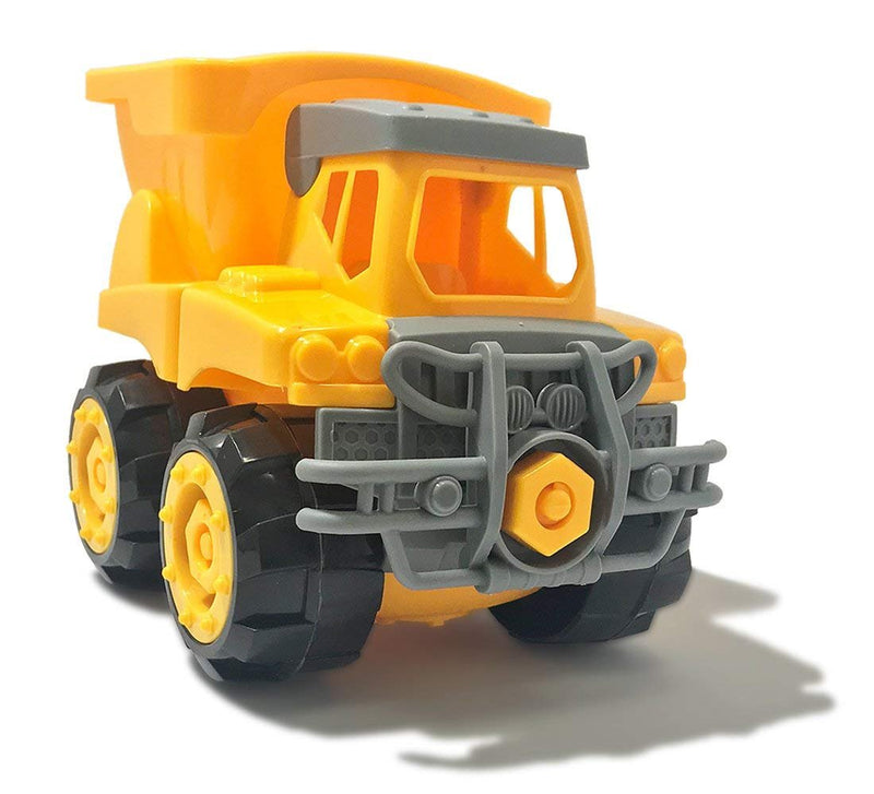 Warp Gadgets - Construction Dump Truck - Create & Play Set - Build, Assemble, Take Apart, DYI Toy