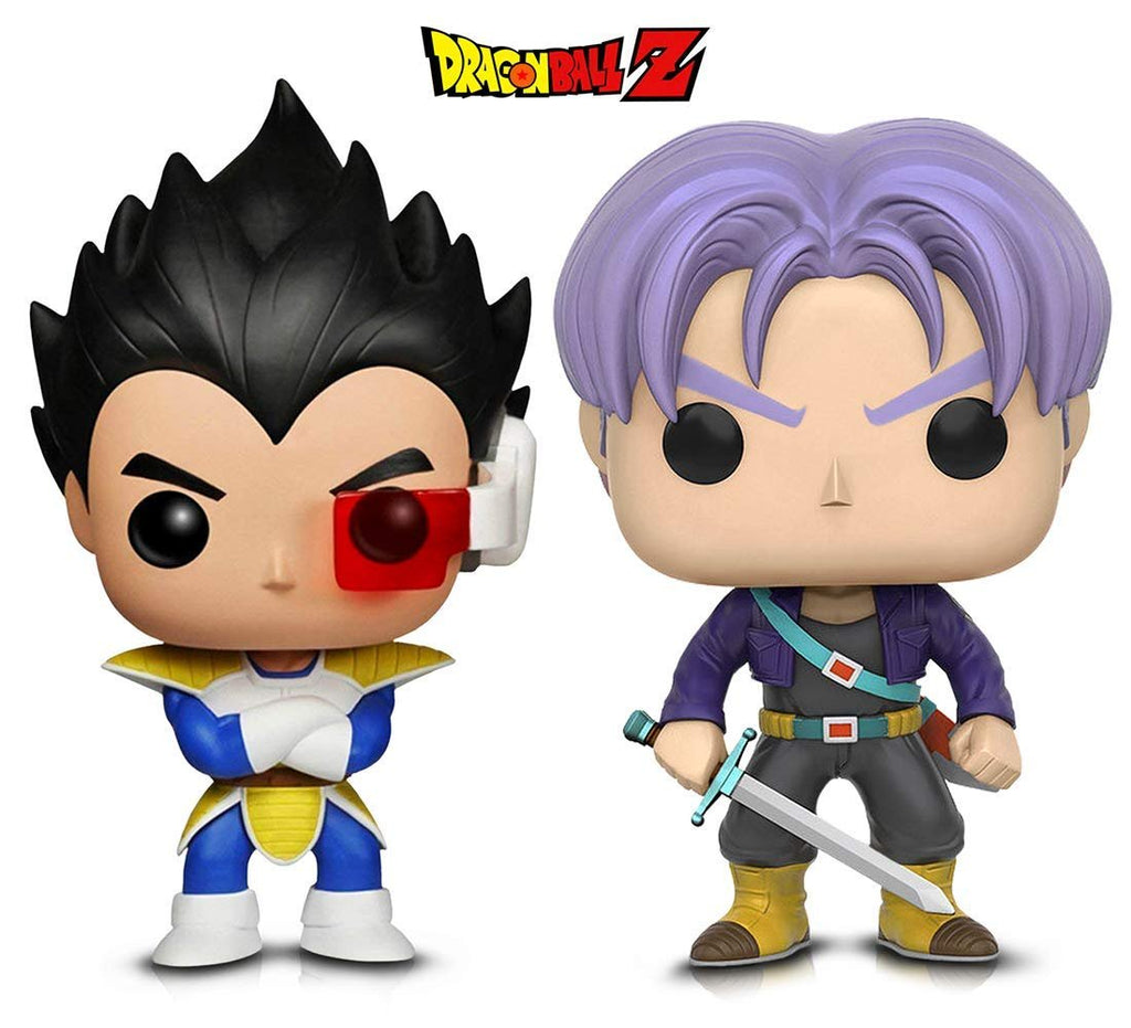 Warp Gadgets Bundle - Funko POP! Animation: Dragonball Z - Vegeta & Trunks (2 Items)