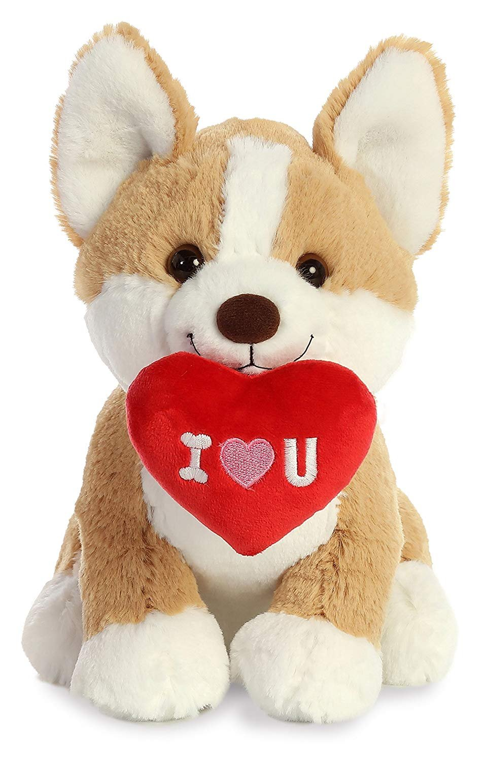 "Aurora World 9"" I Love You Corgi"