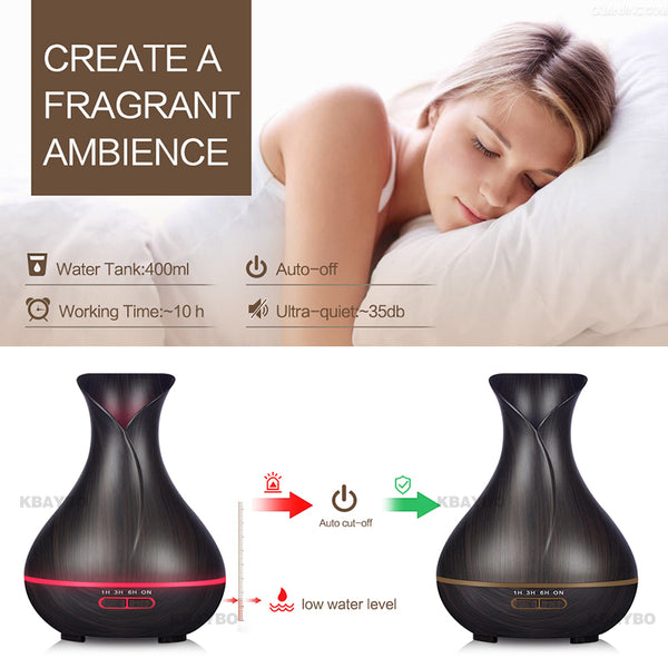 Ultrasonic Air Humidifier LED