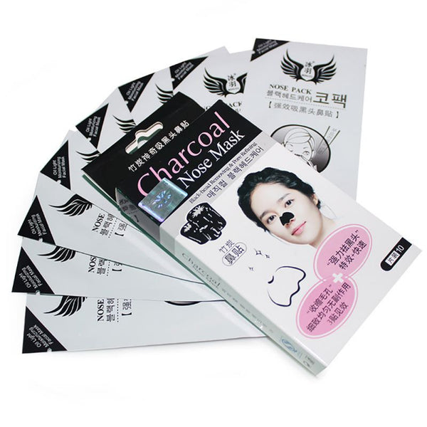 charcoal blackhead removal nose strips