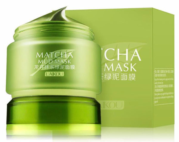 matcha mud mask