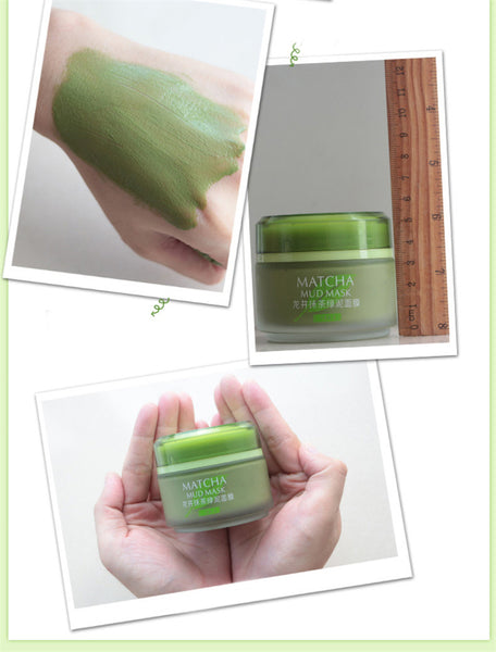 Matcha Anti-Aging Anti Wrinkle Moisturizing Mud Mask