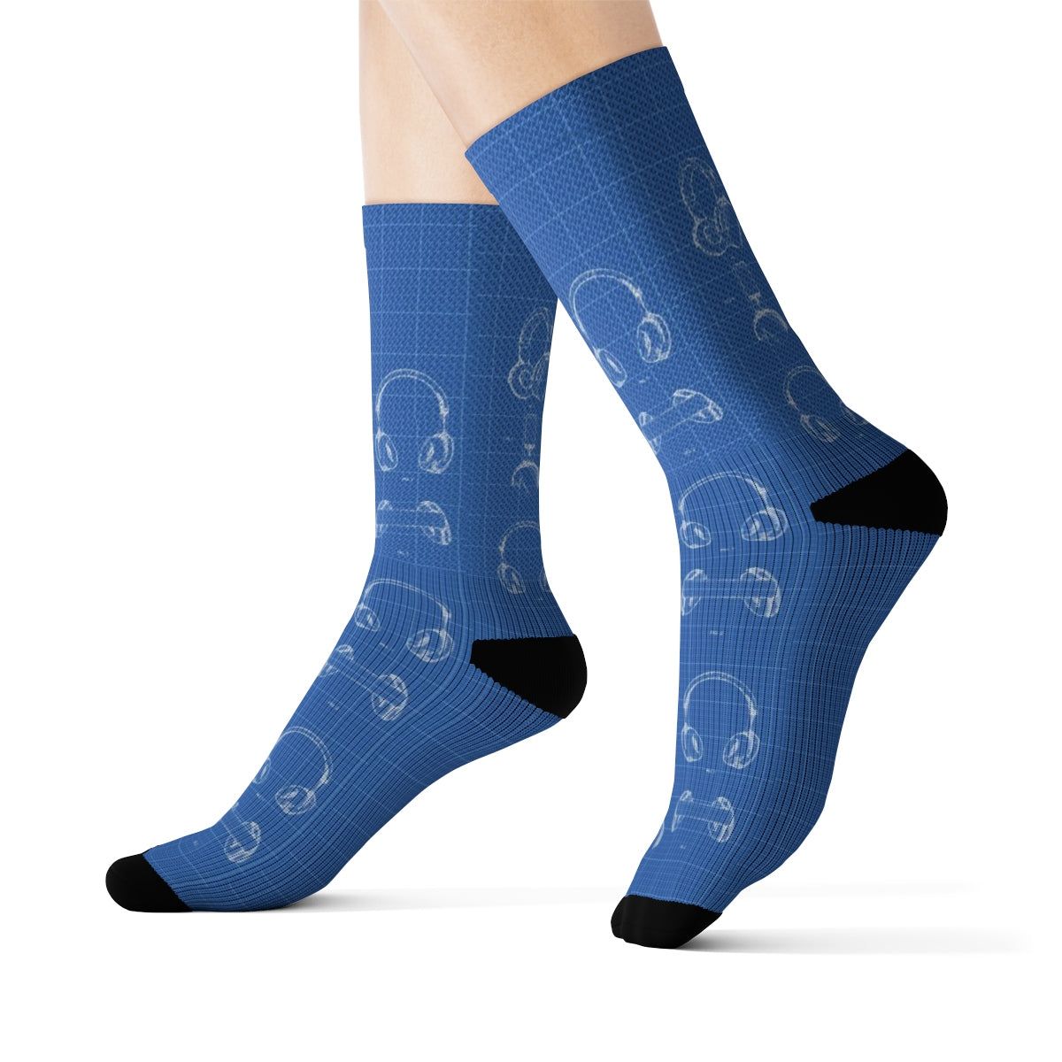 Custom BLU Brainstorm Socks (3 Pair Bundle)