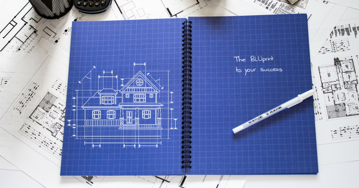 The BLU Notebook Pack (2 books & 2 FREE Pens)