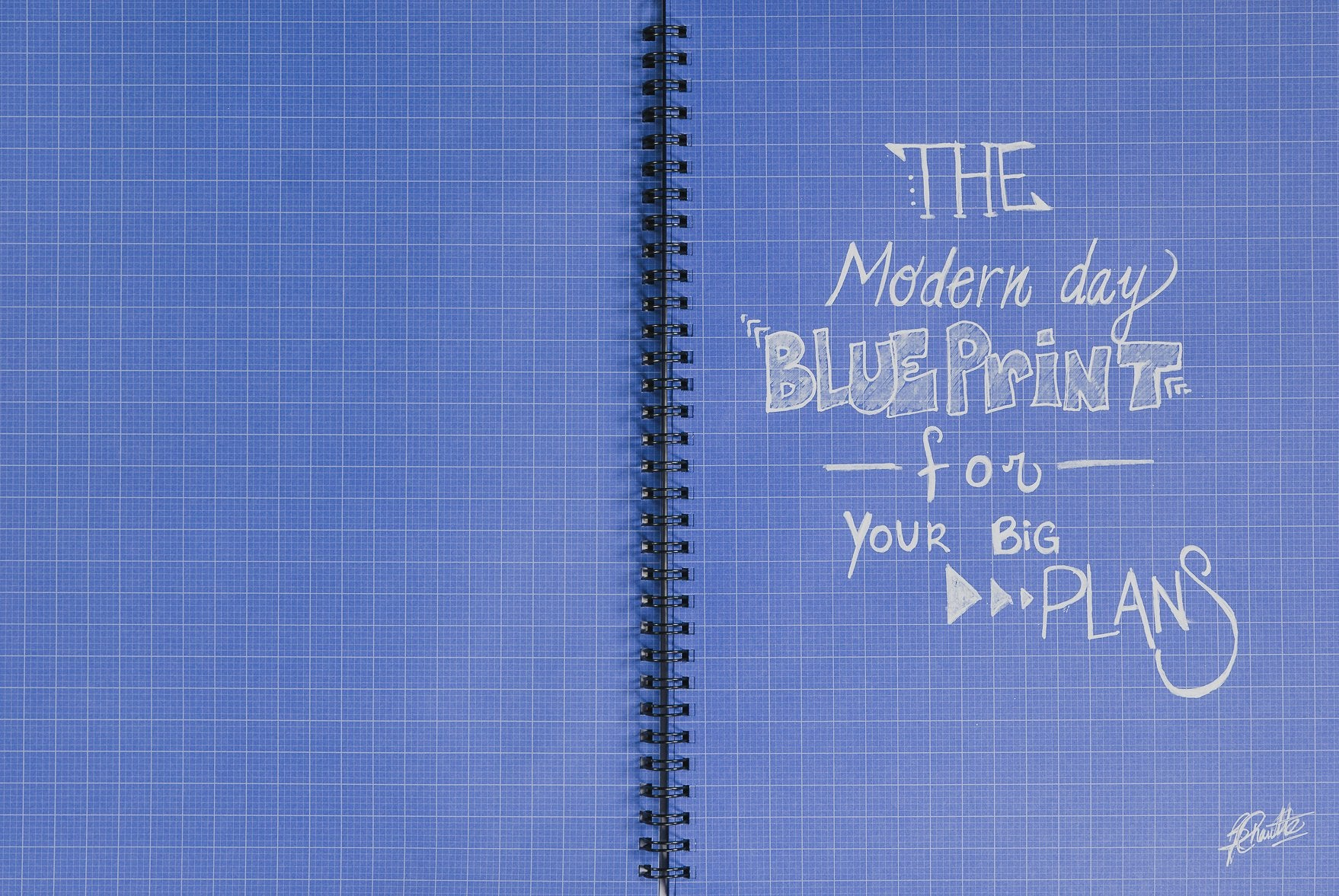 The BLU Notebook Set (1 Notebook & 1 FREE Pen)
