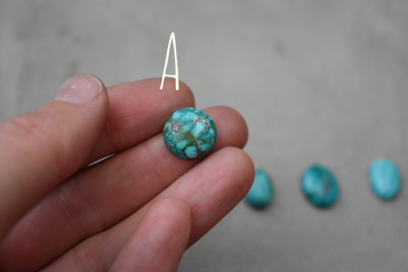 Design Your Own Tibetan Turquoise Ring (Small)