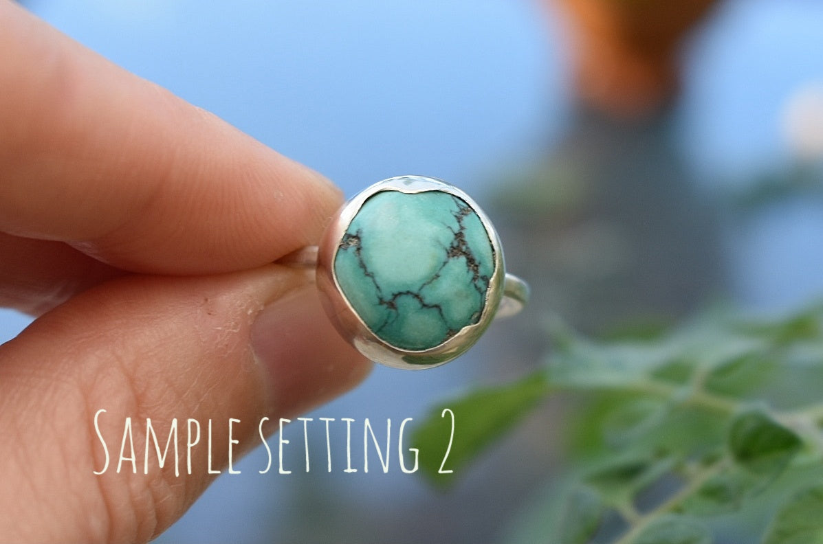 Large Tibetan Turquoise, Design your own