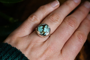 Blue Yungai Eco silver Ring #1