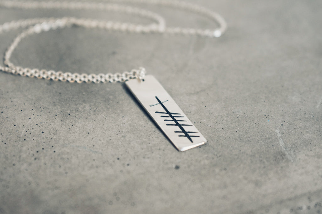 Ogham Grá Necklace