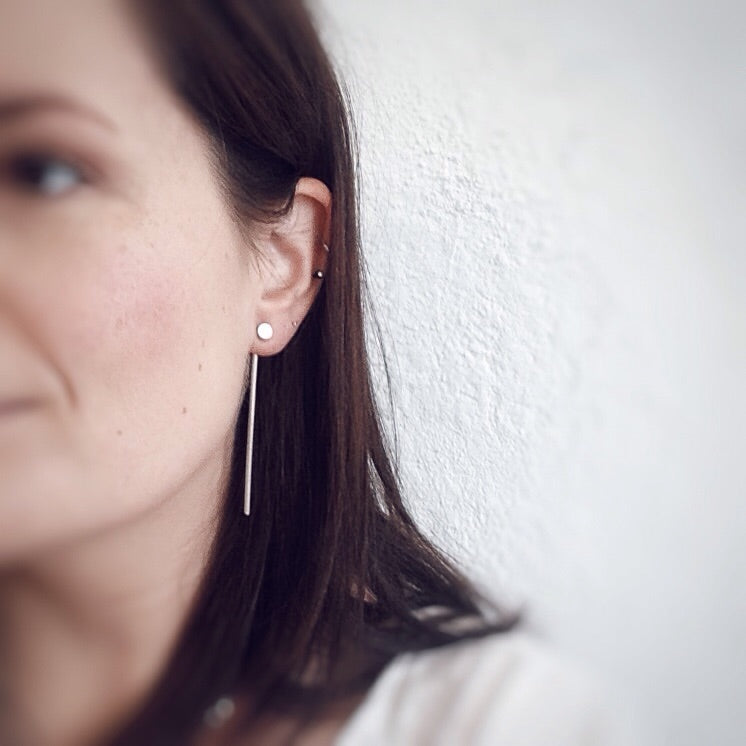 The Most Unlikely Places, Straight Jacket Earrings