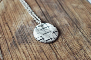 A Maze In, Little Pendant