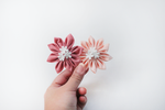Flower Pop Badge Reel