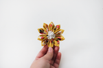 Floral on Floral Hair Clip