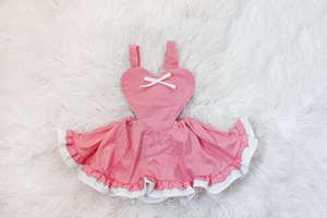 Pink Heart Baby Girl Dress