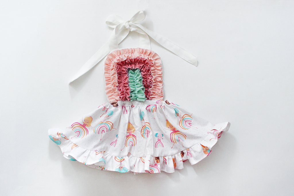 Rainbow Baby girl Dress