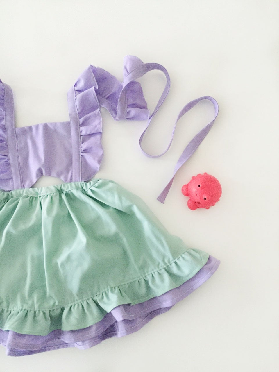 Lively Pinafore Dress