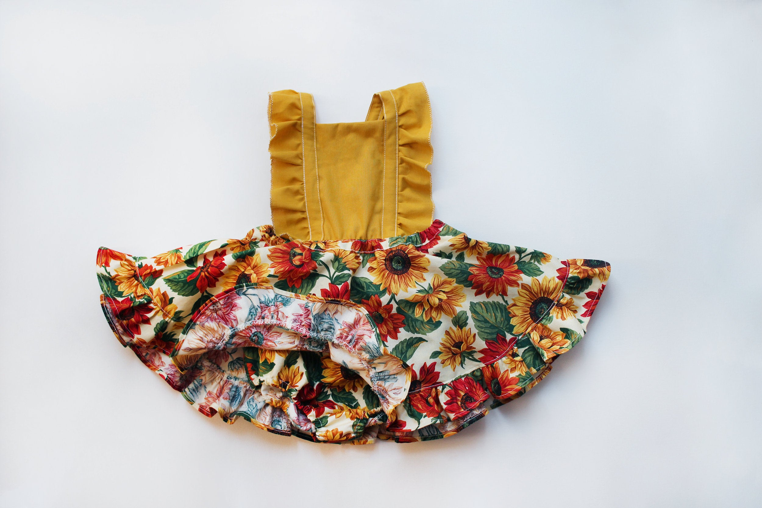 Sunny Pinafore Dress