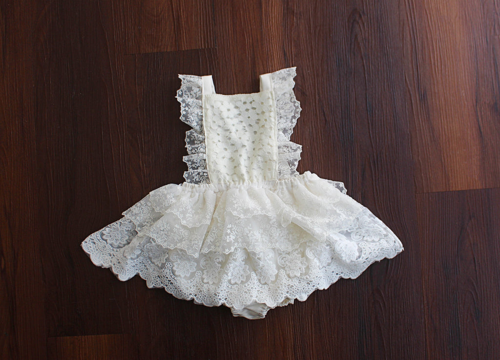 Alice Embroidered Lace Dress
