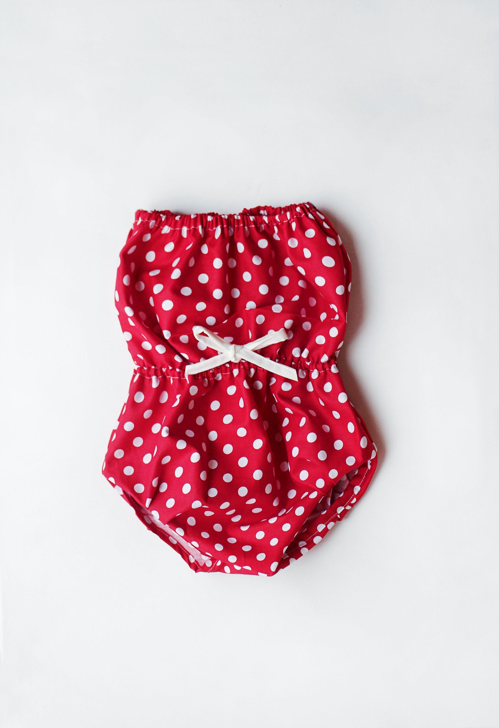 Brandy baby girl romper