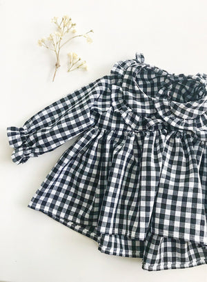Aria Baby Girl Gingham Blouse