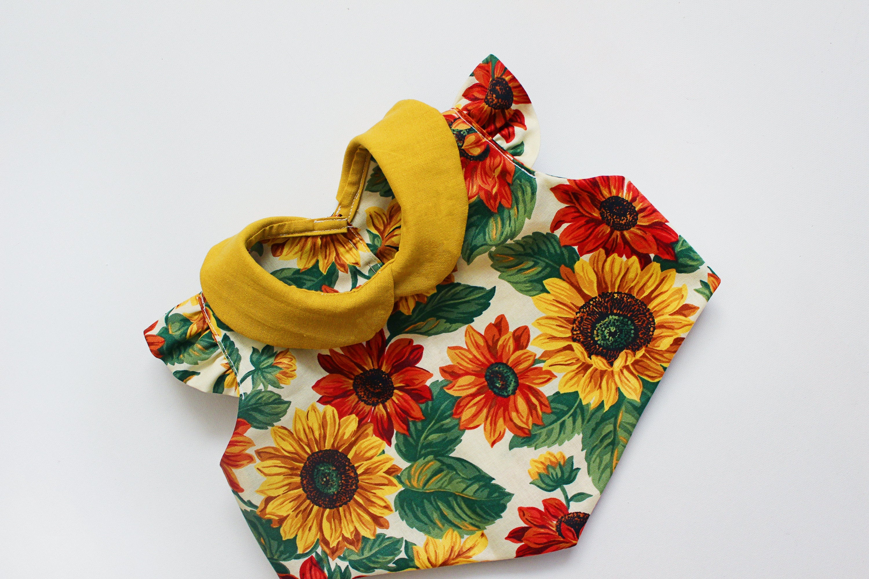Sunny Sunflower Top