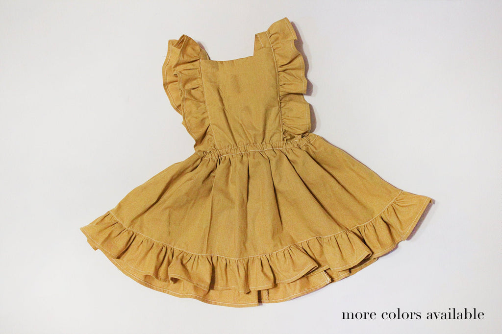 Carrie Pinafore Dress