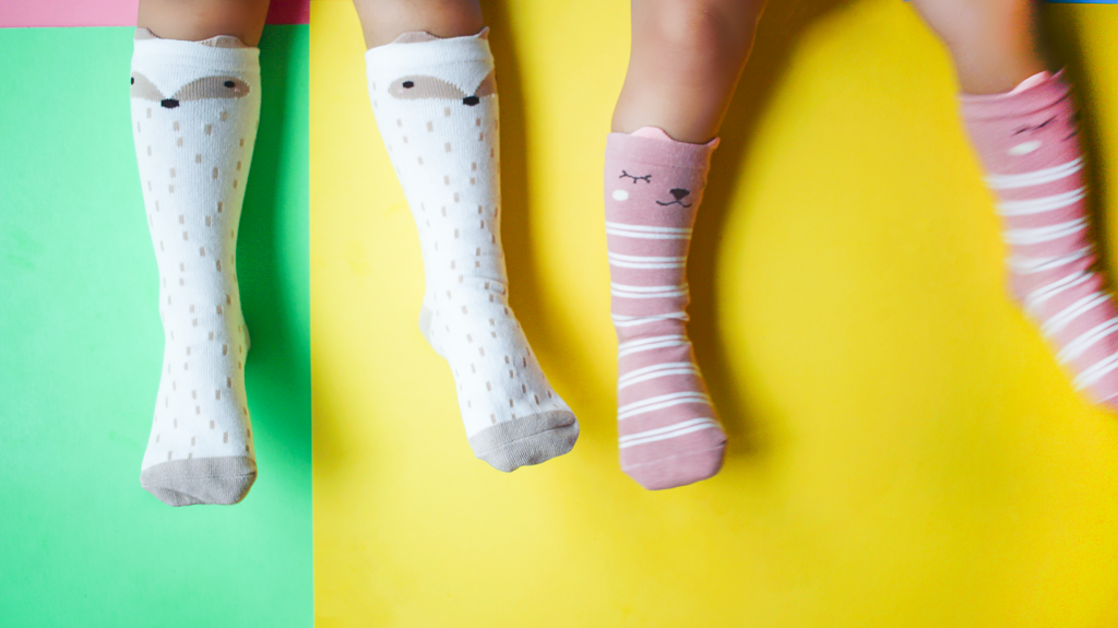 Animal Baby Knee High Socks