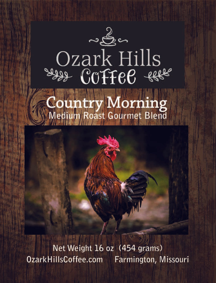 Ozark Hills Country Morning Coffee