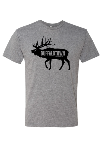 Buffalotown Elk Heather Grey Triblend