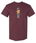 """Chiefing"" Maroon Tee"