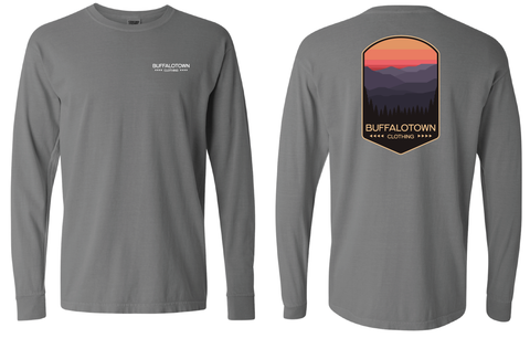 Mountain View Grey Long Sleeve