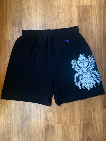 Water Spider Locals Only Cotton Gym Short/without pockets