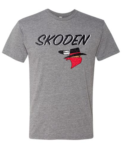 Buffalotown Skoden Tee Heather Grey