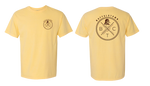 Summer Squash Yellow Simple Logo Tee