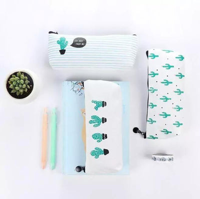 Cactus Pencil Pouch, Pencil Case - My Teacher's Cupboard