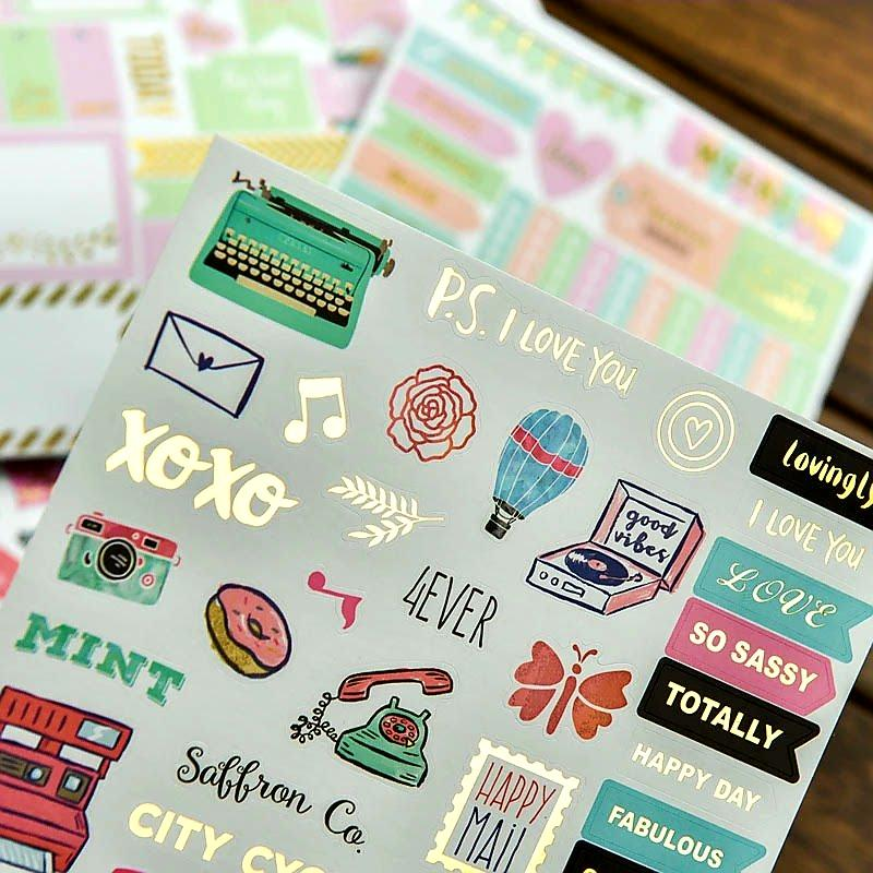 Planner Stickers Scrapbook Stickers My Teachers Cupboard
