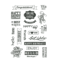 Clear Quotations Stamps