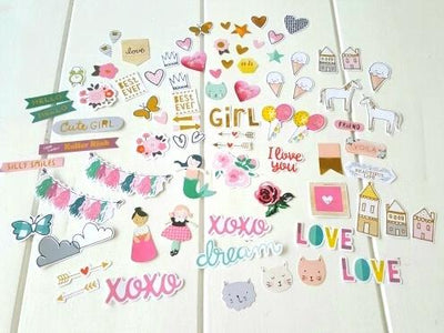 Scrapbook Stickers, Die Cuts, Planner Accessories - My Teacher's Cupboard
