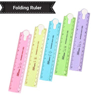 Template Ruler, Plastic Folding Ruler - My Teacher's Cupboard