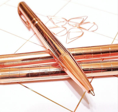 Rose Gold Pen Ink Pen Wedding Pen - My Teacher's Cupboard