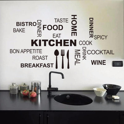 Kitchen Wall Quotes - My Teacher's Cupboard