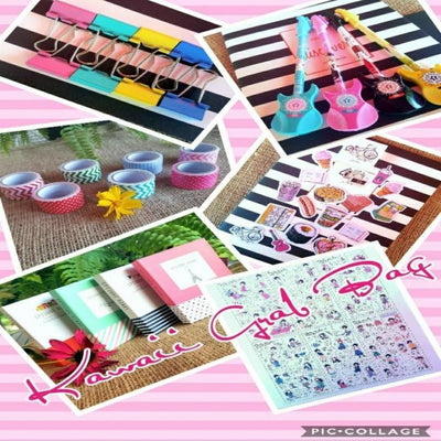 Planner Grab Bag, Kawaii Stationery - My Teacher's Cupboard