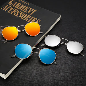 Round Mirrored Boho-Chic Sunglasses