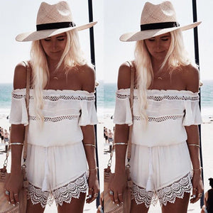 Boho Mini Jumpsuit