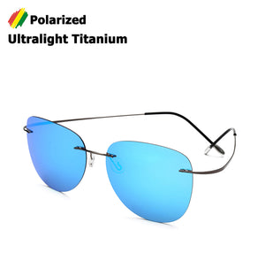 Aviator Ultra-Light Titanium Sunglasses