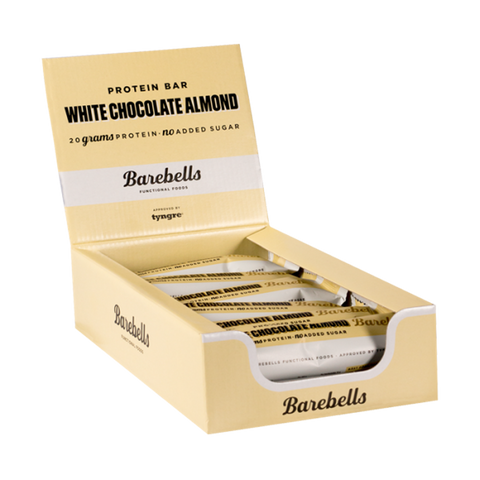 Barebells Protein Bar White Chocolate Almond 12x55g
