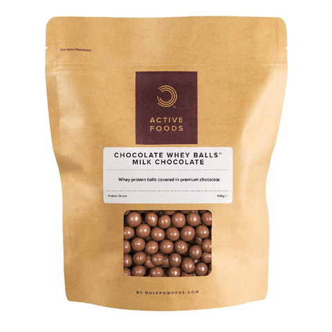 Chocolate Whey Balls