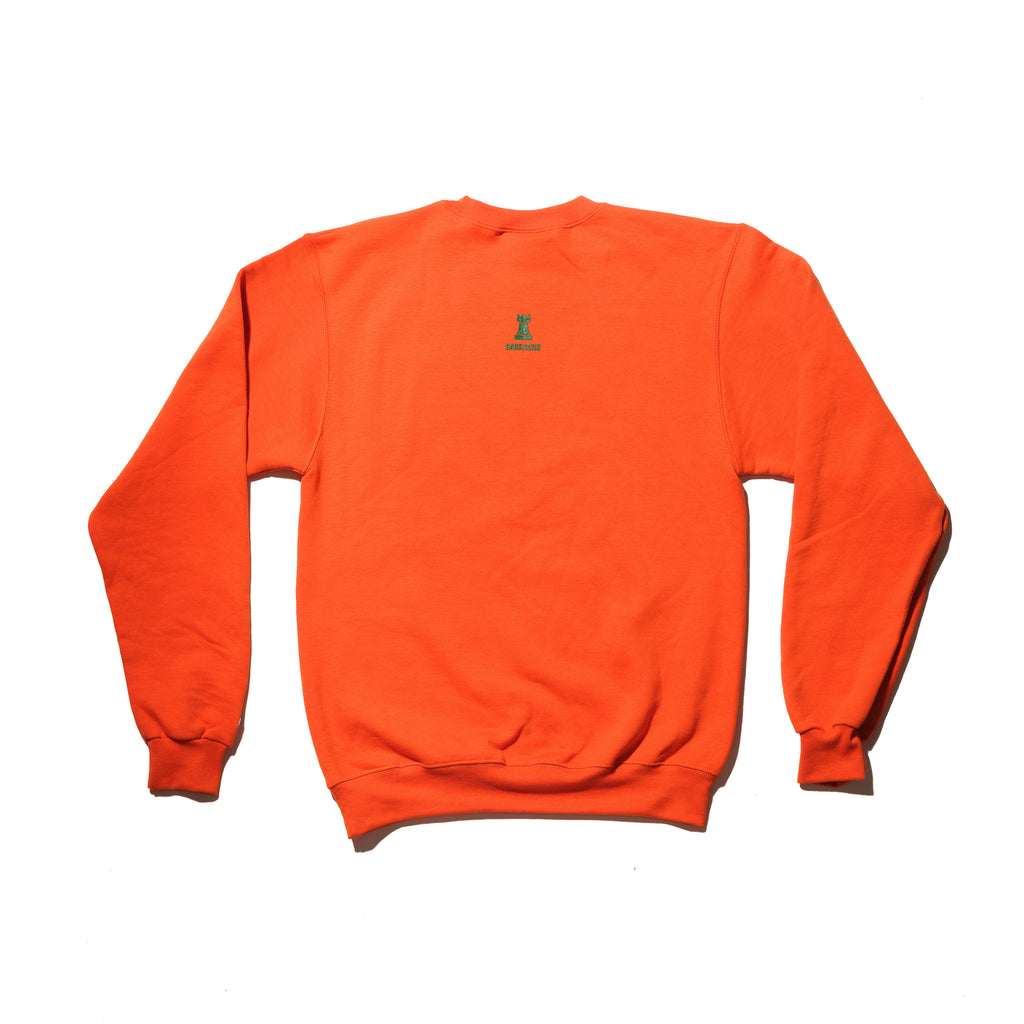Classic BRKS Crewneck Sweater ORNG