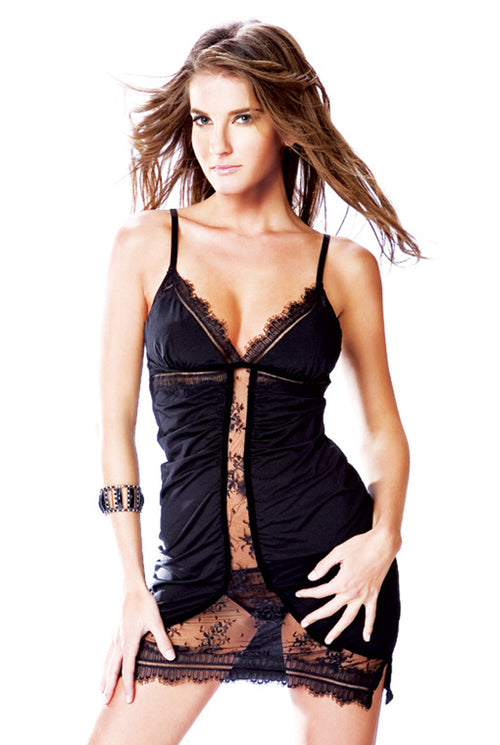 Fitted Lace Chemise